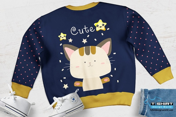 Kids Long sleeve design lglt-04