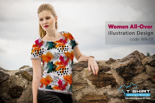 Women All-Over Print Design WA-01
